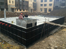 Workmanship of Mingxing Anti-floating Buried Water Tank