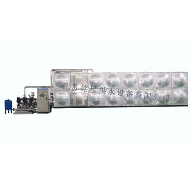 Specifications And Models of Mingxing Tank-style Non-negative Pressure Water Supply Equipment