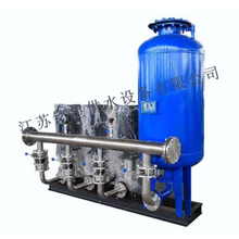 Mingxing Tank-style Variable-frequency Water Supply Equipment Is Composed by Following Parts