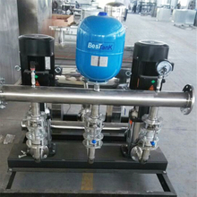 Acceptance Check of Mingxing Non-negative Pressure Variable-frequency Water Supply Equipment