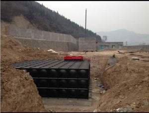 Acceptance Check of Mingxing Buried Tank-pump Integration Pump Station